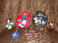 """Disney 3"""" Pins Enchanted Places Cheshire Cat Mikey & Minnie Figures Purses Toy"""