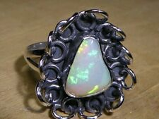Natural Untreated Opal Rings