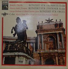 """JOSEPH HAYDN - CONCERTS POUR TROMPETTE - JEAN-FRANÇOIS PAILLARD 12"""" LP (R395)"""
