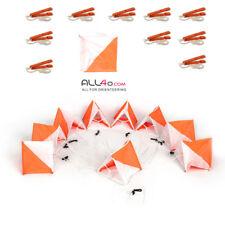 Full Orienteering Set / Kit with 10 Premium Punches + 10 Flags (30cm x 30cm)
