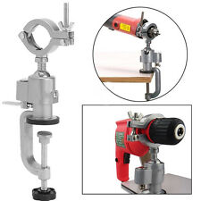 360° Clamp-on Grinder Holder Bench Vise Electric Drill Stand Rotating Tools