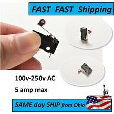 2 PACK - mini micro switch with little lever & roller - - - SUPER Fast Shipping