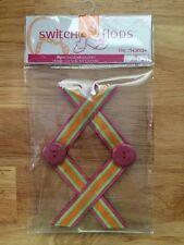 Sz Small 5 & 6 The Rhonda LINDSAY PHILLIPS SwitchFlops Pink Orange Switch Flops