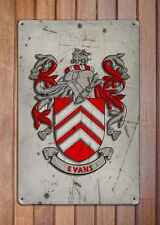 Nicholson Coat of Arms A4 Aged Retro 10x8 Metal Sign Aluminium Heraldry