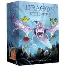 """DRAGON KEEPERS KICKSTARTER """"ALL IN"""" DELUXE ED.+8PLAYER MATS+DICE BAGS NEW/SHIP$0"""