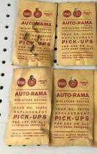 16pc (4 packs) 1960s Gilbert Auto-Rama Slot Car PICK-UP SHOES 19260 1/32 Parts