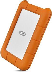 Seagate externe Festplatte HDD Lacie Rugged STFR1000800 USB-C 1TB Silber