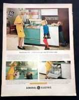 Life Magazine Ad GENERAL ELECTRIC APPLIANCES 1963 AD