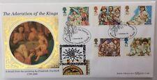 Benham 1.11.1994 CHRISTMAS FDC doubled 1994 Bethlehem, Israel Stamp 1/250, COA