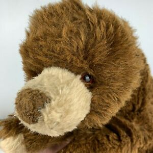 Vintage Alresford Crafts England Town Mill Large Brown Grizzly Bear 50cm
