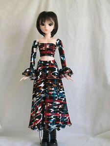 multi color & black skirt set for 60 cm 1/3 BJD Smart Doll handmade by JEC