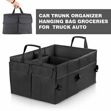 Trunk Organizer Storage Bin Bag Collapsible Fold Grocery Caddy Car Truck Auto Us