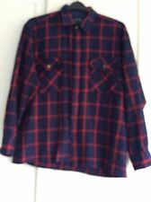 Backpacker Men's Checked Long sleeve Shirt Large Excellent Condition