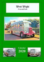 2020 CALENDAR - ISLE OF WIGHT BUSES/COACHES PICTURES