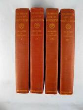 Memoirs Of Constant The Private Life Of Napoleon 4 Book Set Antique 1895 (O)