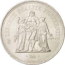 Monnaies, France, Hercule, 50 Francs, 1976, Paris, SUP+, Argent #19211
