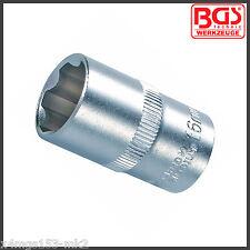 """BGS - 16 Mm Socket - 6 Puntos - """"Super bloqueo"""" - de 1/2 pulgada Drive-Pro gama - 2416"""