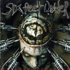 SIX FEET UNDER - MAXIMUM VIOLENCE - 1999 (CD) - LIKE NEW