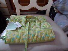 Vera Bradley medium hanging organizer in retired Citrus Floral pattern- rare-Nwt