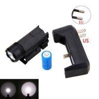 Tactical XPG-Q5 White LED Shortgun Flashlight Pistol Hunting Rifle Spotlight Kit