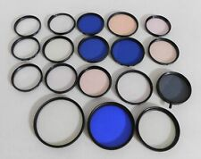 Assorted lot Camera lens filters~Tiffen~Hoya~Cambron~Vivitar +~ Free Shipping