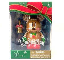 "DISNEY VINYLMATION 3"" JAPAN TOKYO CHRISTMAS GINGERBREAD MAN MICKEY MOUSE 2012"