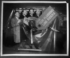Nov 1962 Introduction R 36 New York City Subway Car Original Photo