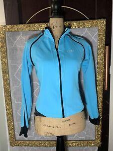Gore Bike Wear Women's Gore Wind Stopper Phantom Zip Off Jacket S blue NEW