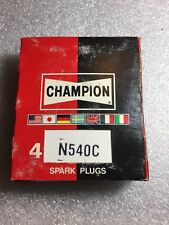 N540C Champion Spark Plugs - Box of 4 - NEW Old Stock NOS - RACING RARE