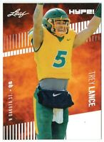 Trey Lance 2021 Leaf HYPE! #51A Only 5000 Made 25-Card Rookie Lot