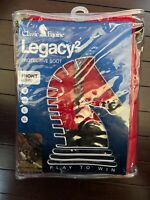 Classic Equine Front LEGACY2 SYSTEM Red Medium M Horse Sport Medicine Boots