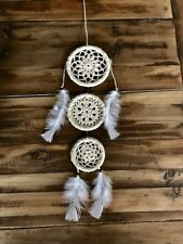 """19"""" Medium Homemade Dream Catcher with feathers"""