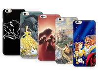 BEAUTY AND THE BEAST DISNEY DESIGN GEL CASE COVER FOR IPHONE PHONES