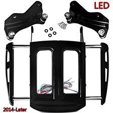 Docking Hardware&Two-Up Luggage Rack&Smoke Lights For Harley FLHX 14 15 16 17 18