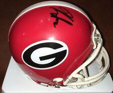 Kirby Smart Signed Georgia Mini Helmet AUTOGRAPHED Bulldogs Mini