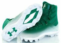 Under Armour Highlight RM Jr. Football/Lacrosse Cleats Youth 4.5 Green/White