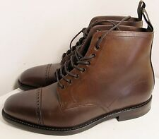 Loake Hyde Brown Boot 7.5 F -  Slight Seconds RRP £235 (3219)