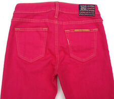 EUC - LOOK NEW - RRP $389 - Womens Stunning True Religion 'HALLE' Red Jeans