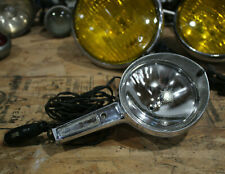Vintage Hand Held SPOTLIGHT 12v old hot rod muscle car auto spot light portable