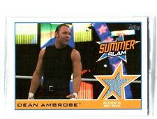 WWE Dean Ambrose 2014 Topps Event Used SummerSlam 2013 Mat Relic Card