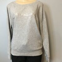 Victorias Secret Womens Gray Angel Love Dream Pullover Sweater Size M