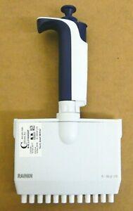 Rainin Pipet-Lite L12-50XLS Multichannel Pipette, 12 Channel, 5-50 uL, LTS