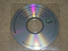 Redshift 3 - stronomical CD - Rom PC windows 95/98 and XP