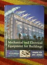 Mechanical and Electrical Equipment for Buildings 9th Ed 2000 Used