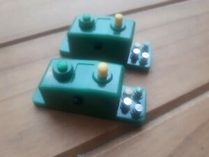 2 X Minitrix / Trix N gauge Electric Point Motors