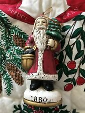 Memories Of Santa Collection 1880 Limited Edition Ornament