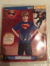 Halloween Costume Super man Large 10-12