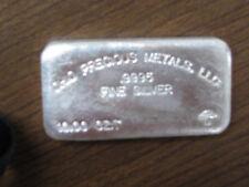 """Ohio Precious Metals, """"Mushroom"""", 10 Ounce, .9995 Silver Bar"""