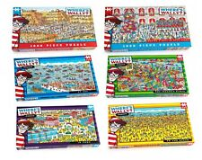 Where's Wally Jigsaw Puzzle - 100, 250 or 1000 Pieces, Rubik's Cube
