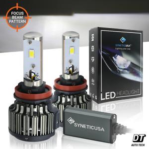 120W 12000LM CREE LED H11 Fog Light Kit Bulbs Lamp Xenon White 6000K High Power